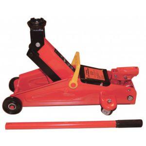 Peraline Cric Hydraulique Roulant Cric Rouleur 2 Tonnes avec roues pivotantes