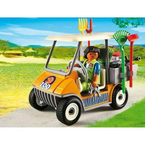 Playmobil 6636 City Life - Soigneur animalier avec véhicule