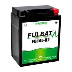 Fulbat Batterie moto Gel YB14L-A2 / 12N14-3A 12V 14Ah