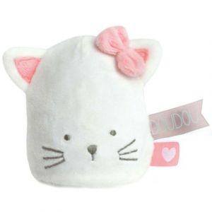 Doudou et Compagnie Doudou veilleuse chat vanille fraise
