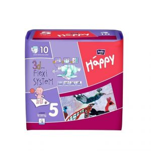 Bella Baby Happy Junior taille 5 (12-25 kg) - 10 couches