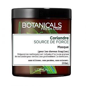L'Oréal Botanicals Masque Soin Cure de Force pour Cheveux Abîmés 200 ml