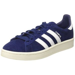 Adidas Campus, Baskets Basses Homme, Bleu (Dark Blue/Footwear White/Chalk White), 45 1/3 EU