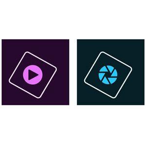 Photoshop Elements & Premiere Elements 2021 - Licence perpétuelle - 1 PC - version boîte [Windows]
