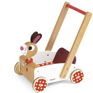 Janod Chariot de marche Crazy Rabbit