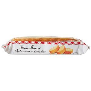 Bonne Maman Quatre-Quarts au beurre frais - Le paquet de 500g