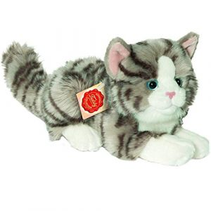 Hermann Teddy Collection - 906919 - Peluche - Chat Mensonge - 20 cm - Gris (Sub-Store - ( Alle Preise inkl MwSt Widerrufsbelehrung AGB unter Verkaeufer-Hilfe), neuf)