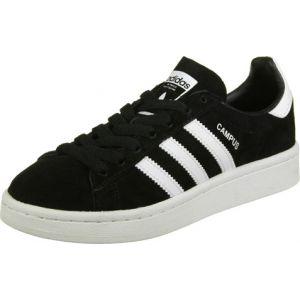 Adidas Campus, Baskets Basses Mixte Enfant, Noir (Core Black/Footwear White/Footwear White), 38 EU