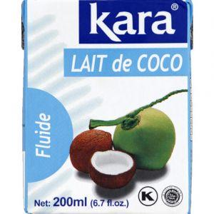 Kara Lait de coco - La brique de 200ml