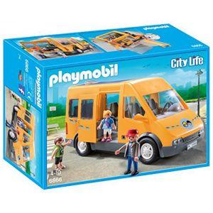 Playmobil 6866 City Life - Bus scolaire