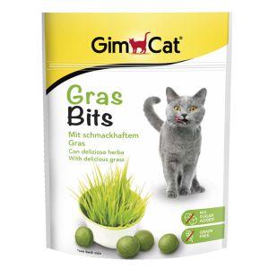 GimCat 2x140g GrasBits pour chat - Friandise pour chat