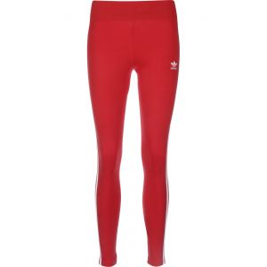 Adidas 3 STR Tight Collants Femme, Rouge
