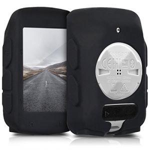 Kwmobile Housse pour Garmin Edge 520 - Housse de Protection pour GPS vélo - Coque pour Compteur vélo Noir