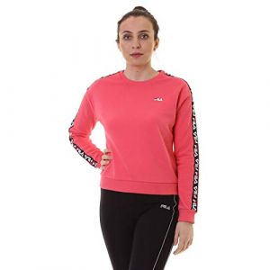 FILA Sweat-shirt Sweat Femme Tivka Fuschia rose - Taille 36,EU S,EU M,EU XS