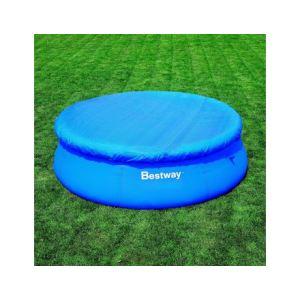 Bestway 58033 - Bâche 4 saisons pour piscine autoportante ronde Ø 305 cm