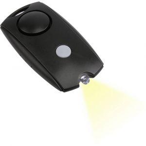 Olympia Alarme de poche PA 10 noir avec LED 100 dB 5968