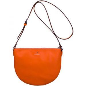 Kesslord Luna - Sac bandoulière en cuir - orange