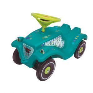 Big Porteur enfant Bobby Car classic étoiles turquoise