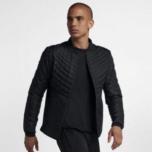 Nike Veste de Running Veste de running AeroLoft pour Homme - Noir - Taille L