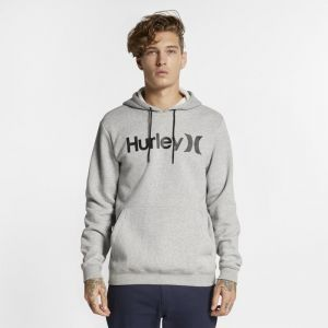 Nike Sweat à capuche Hurley Surf Check One And Only Homme - Gris - Taille L - Male