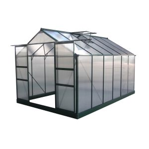 Viva Green Dahlia - Serre jardin polycarbonate 9,24 m²