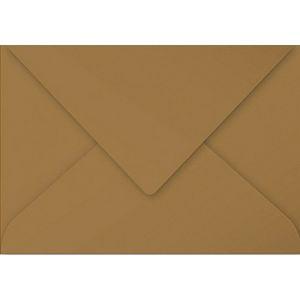 Clairefontaine 29002C Paquet de 20 Enveloppes Pollen 16,2 x 22,9 cm 135 g Kraft Brun