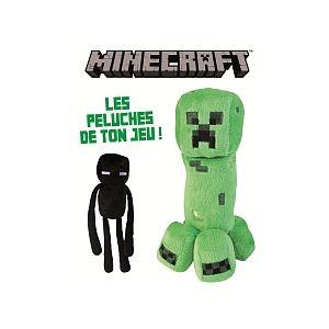 Jazwares Peluche Minecraft créature méchants (modèle aléatoire)