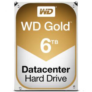 """Western Digital WD6002FRYZ - Disque dur interne WD Gold 6 To 3.5"""" SATA III"""