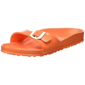 Birkenstock Madrid, Mules Femme, Orange (Scuba Coral), 36 EU (étroit ... f85072758d92