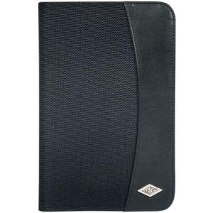 Wedo 58 5801 - Conférencier Elegance, format A5, simili cuir, noir