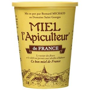 Miel l'Apiculteur Miel de France Pot Carton 1 Kg - Lot de 5