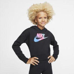 Nike Sweat à capuche court Sportswear Fille plus âgée - Noir - Taille M - Female