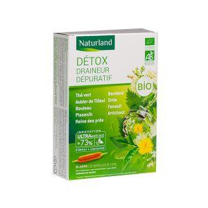 Naturland Détox bio en format 20 x 10 ml