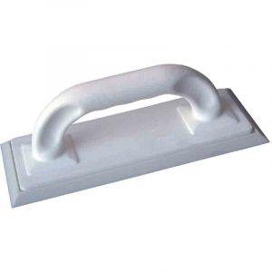 Outibat Taloche de carreleur à joint - Semelle blanche - Dimensions 250 x 100 mm