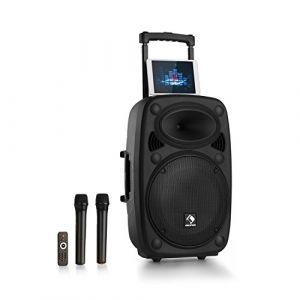 Auna Streetstar 12 Système sono portable subwoofer 12 Bluetooth USB SD MP3 FM A