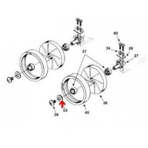 Procopi 1001040 - Rondelle de roue Polaris 180-280