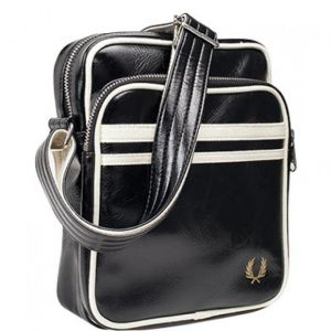 Fred Perry Sac besace CLASSIC SIDE BAG Noir - Taille Taille Unique
