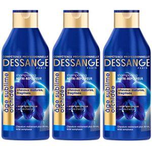 Jacques Dessange Age Sublime Orchidée Shampoing Nourrissant-Repulpeur Pour Cheveux Matures tt Fragilisés