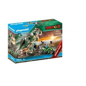 Playmobil Explorateur avec quad et dinosaures Dinos 70632