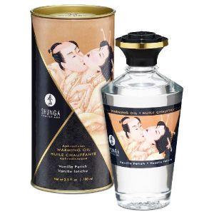 Shunga Erotic Art Huile Chauffante Aphrodisiaque Parfumée Shunga Vanille