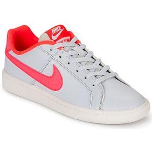Nike Court Royale (GS), Chaussures de Tennis Fille, Multicolore (Cool Grey/Black-Pure Platinum-Pink Blast), 36.5 EU