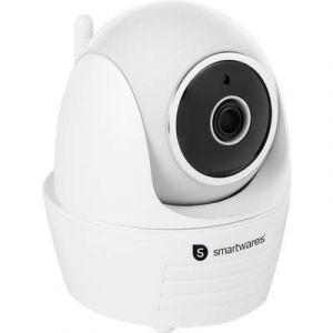 Smartwares Caméra de surveillance intérieur motorisée IP Full HD 1080P C794IP