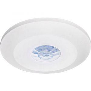 Gev Détecteur de mouvements 016811 pour l'intérieur plafond, encastré 360 ° relais blanc IP20