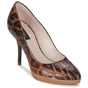 Escada Chaussures escarpins AS701 Marron - Taille 37,38,39,40