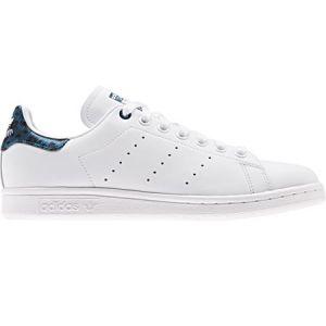 Adidas Stan Smith chaussures Femmes blanc bleu T. 36,0