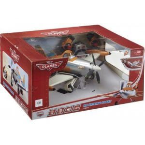 Dickie Toys Avion Dusty Radiocommandee 1.24 RC Disney Planes - Voiture RC Driving