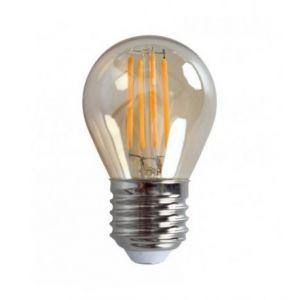 Ampoule LED rétro Edison Mini (H.4,5cm) filament droit 4W (E27)
