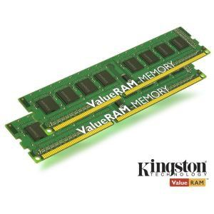 Kingston KVR16N11K2/16 - Barrettes mémoire ValueRAM 2 x 8 Go DDR3 1600 MHz CL11 240 broches