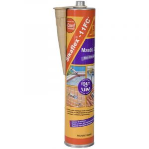 Sika Mastic-colle Multi-usages - Beige - 380 g