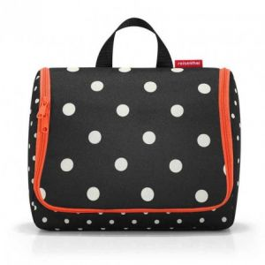 Reisenthel Toiletbag XL Mixed Dots Trousse de Toilette 28 Centimeters 4 Noir